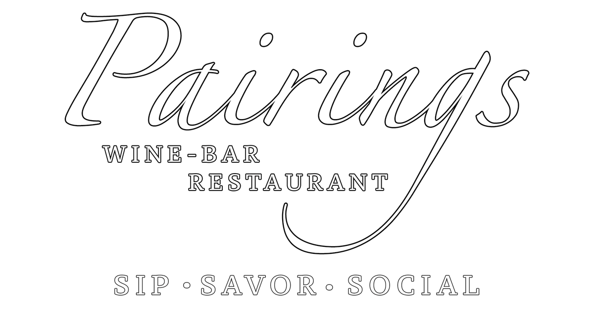 "Pairings Cellars - ""Sip . Savor . SociaL"""
